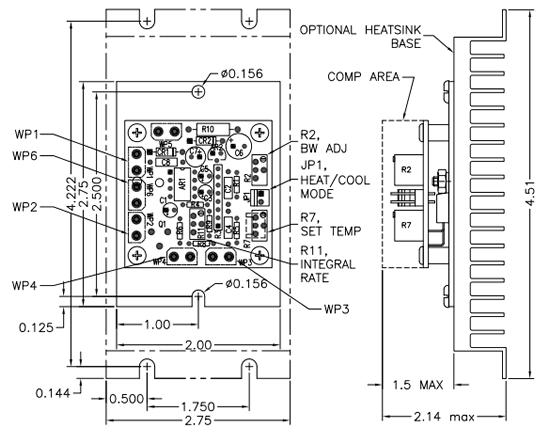 5R7-350 Dimension Drawing